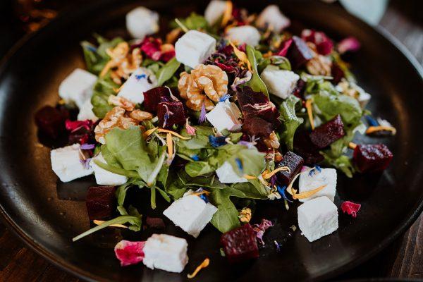 Walnut and Feta Salad