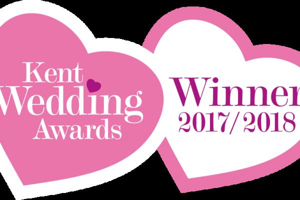 Kent Wedding Awards Winner 2017/ 2018