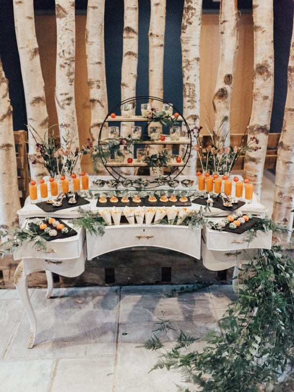 Shaped by love at the Cherry Barn as featured on Rock My Wedding