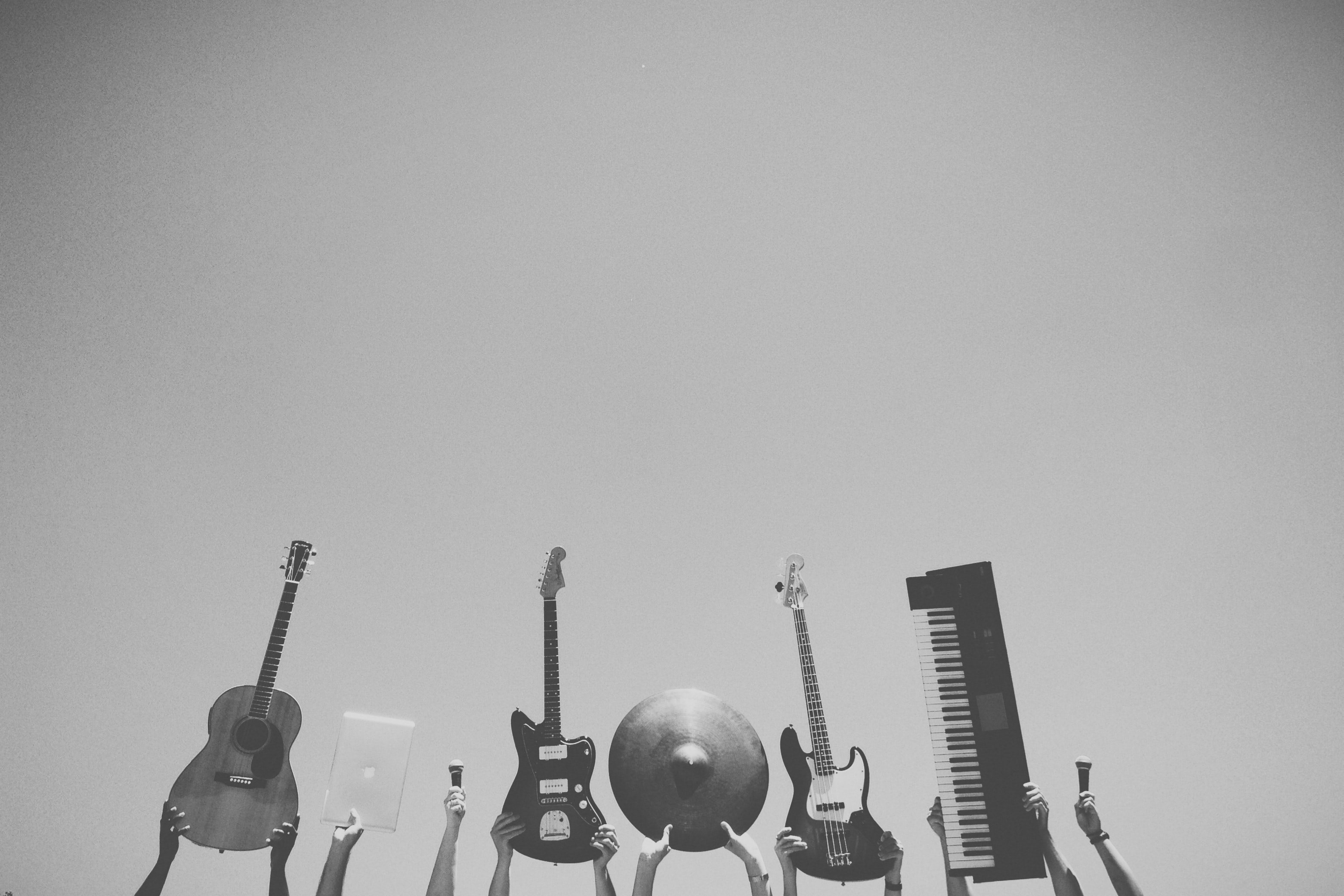 five musical instruments