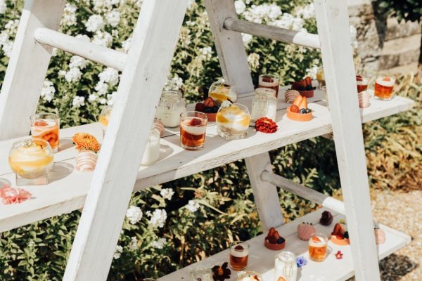 Sweet canapes, perfect for a quintessentially English picnic